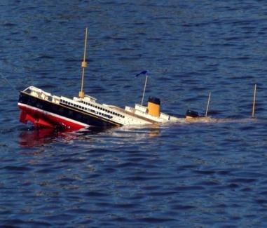 Rusiyada gəmi batıb - 17 ölü
