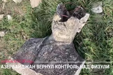 """""""Ermənilər burada ölülərlə döyüşürdü"""" - """"Dojd"""" telekanalı Füzulidə - VİDEO"""