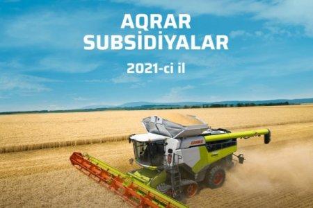 Azərbaycanda 2021-ci ildə bitkiçilik sahəsində subsidiyaların verilməsi üçün kvotalar açıqlanıb