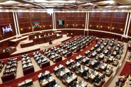 Milli Məclisin plenar iclası keçiriləcək