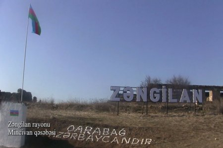 Zəngilan rayonunun Mincivan qəsəbəsindən YENİ VİDEO