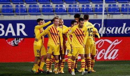 """""""Barselona"""" səfərdə qələbə qazanıb, Messi 500-cü oyuna çıxıb"""