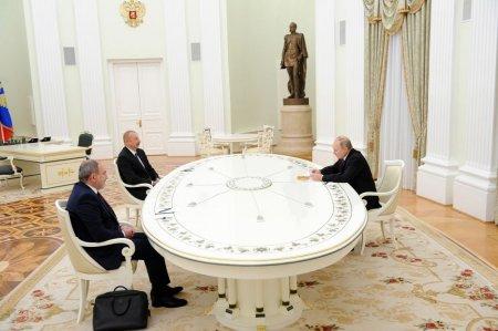 Azərbaycan Prezidenti, Ermənistan baş naziri və Rusiya Prezidenti bəyanat imzalayıblar