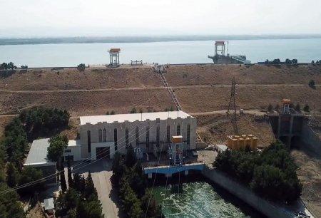 Ölkənin ikinci böyük su elektrik stansiyasında təmir aparılır