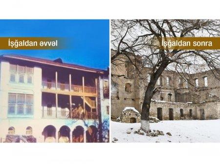 Ermənilərin dağıtdığı tarixi məktəbdə tanınmış azərbaycanlı ziyalılar müəllimlik edib - Nazir