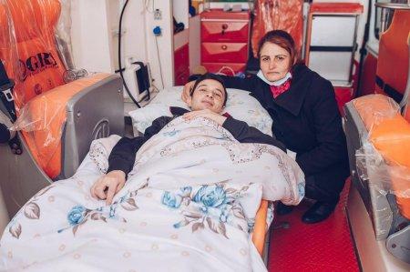 """Ağır yaralı 27 qazi """"YAŞAT"""" Fondu tərəfindən Türkiyəyə göndərildi"""