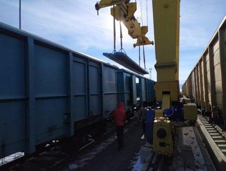 BTQ ilə Orta Asiyadan Türkiyəyə konteynerlə yükdaşımalar artıb