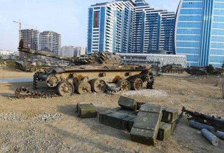 Hərbi Qənimətlər Parkı: Ermənistanın rəzalət simvolu