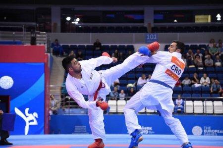 Lissabonda keçirilən Karate1 Premyer Liqa turnirində komandamız iki medal əldə edib