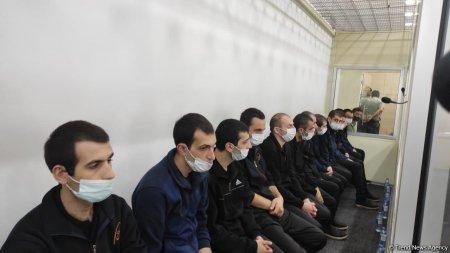 13 nəfərlik erməni diversiya qrupu ifadə verir