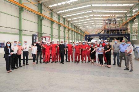 STP-nin türk tərəfdaşları ASSAN-STP Panel işçiləri ilə görüşüb