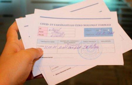 Zərdabda saxta COVID pasportu verən həkimə cinayət işi başlandı