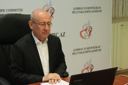 İlqar Rəhimov yenidən Milli Paralimpiya Komitəsinin prezidenti seçilib